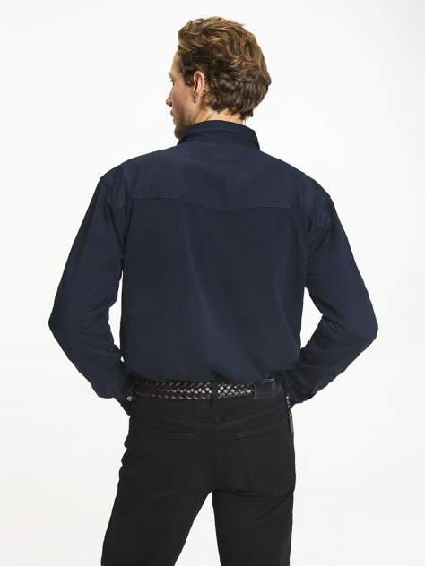 Джинсовая рубашка мужская Velocity Prime16-26 синяя 3XL