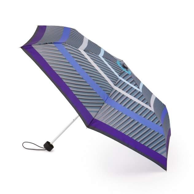 Зонт складной женский механический Henry Backer U32202 серый