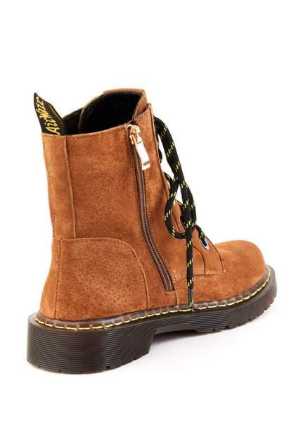 Ботинки женские GUSTO ECCELLENTE 2184WA-62722 коричневые 38 RU