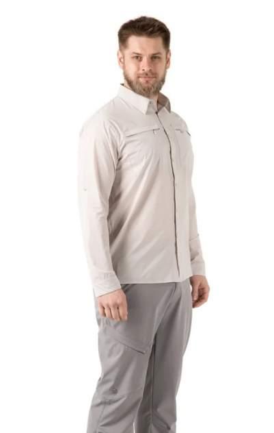 Рубашка FHM Airy, бежевый, XXL INT