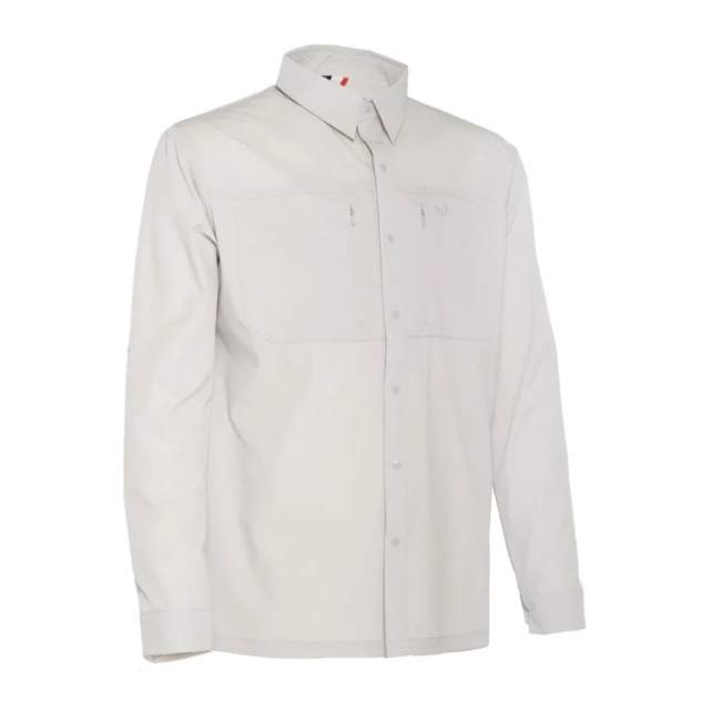 Рубашка FHM Spurt, светло-серый, XXL INT