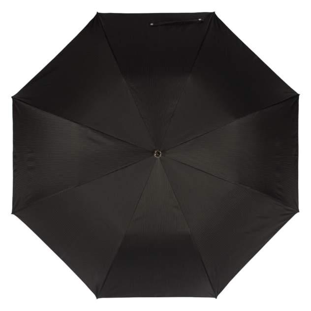 Зонт складной мужской полуавтоматический Pasotti Auto Leone Silver StripesS черный