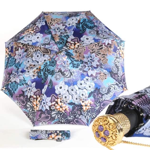 Зонт складной женский автоматический Pasotti Auto Novita Viola Lux фиолетовый
