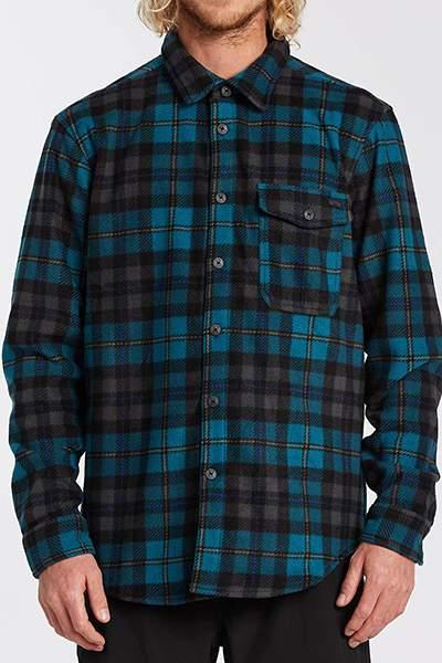 Флисовый мужской джемпер Adventure Division Furnace Flannel, черный, S