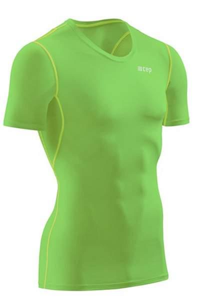 Футболка CEP Wingtech Short Sleeve Shirt, зеленый