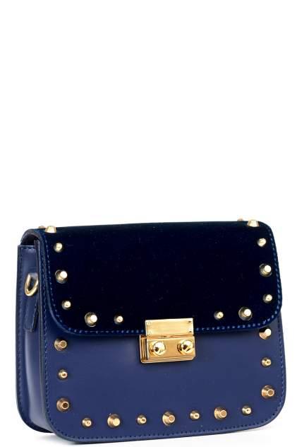 Сумка-клатч женская Piumelli Velvet Vale L118 синяя