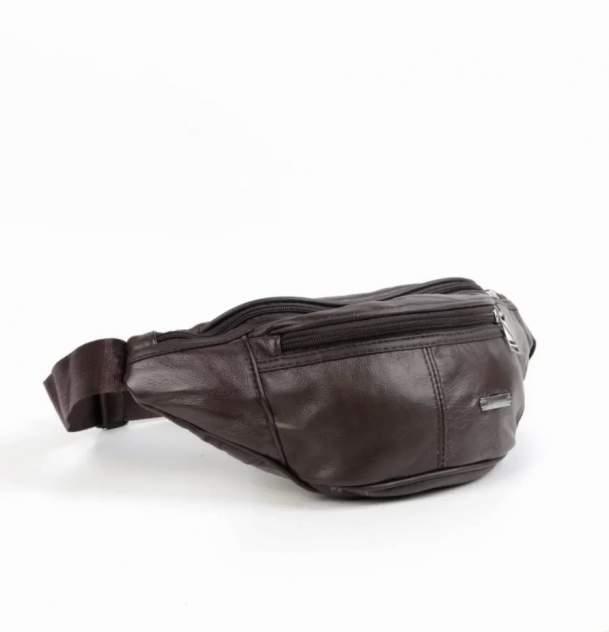 Поясная сумка мужской Fuzi house Банан коричневый