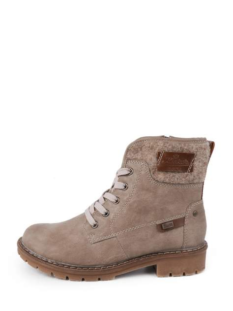 Ботинки женские Rieker Y9123 бежевые 36 RU