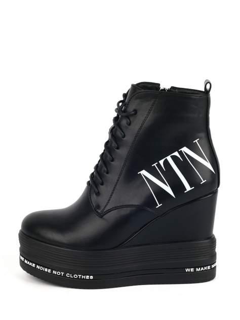 Ботинки женские BERTEN BA49 черные 37 RU