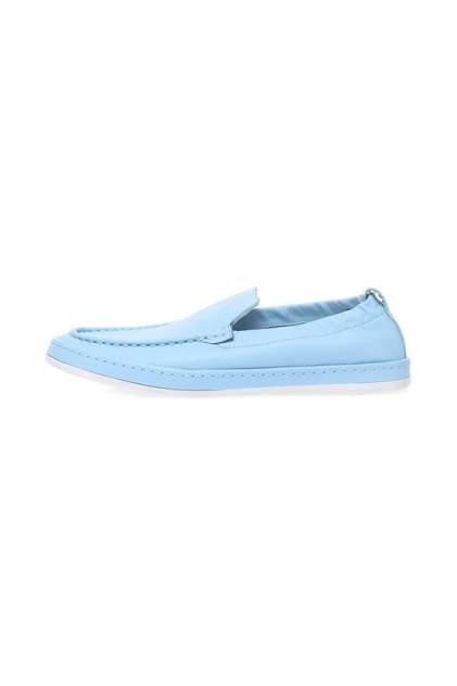 Мокасины женские MASCOTTE 128-011111-01 голубые 36 RU