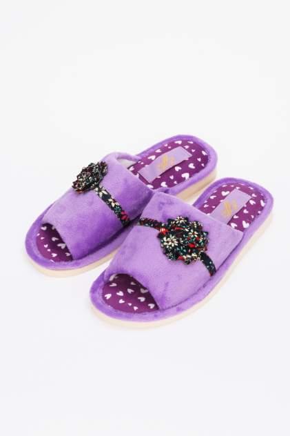 Домашние тапочки женские Effa 74700 фиолетовые 38 RU