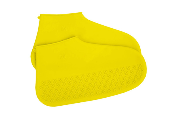 Силиконовые чехлы для обуви ZDK желтые размер L