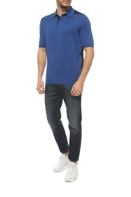 Футболка-поло мужская SVEVO 46159SE18 V9F синяя 56