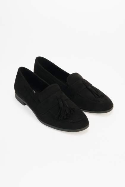 Лоферы женские Keddo 817120/01 черные 37 RU