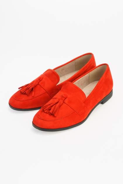 Лоферы женские Keddo 817120/01 красные 37 RU