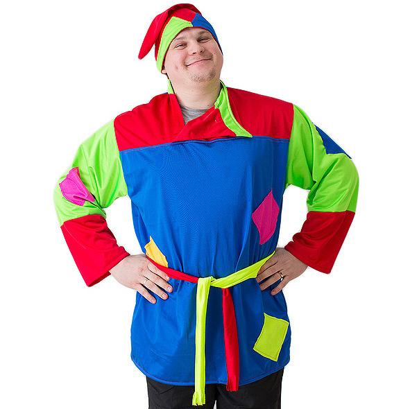 Карнавальный костюм Бока Клоун, цв. разноцветный р.180