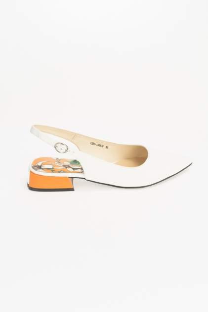 Туфли женские Respect VS56-138576 белые 37 RU