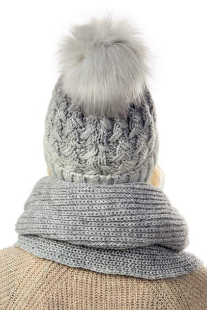 Комплект женский Jagga 1334 светло-серый/серый