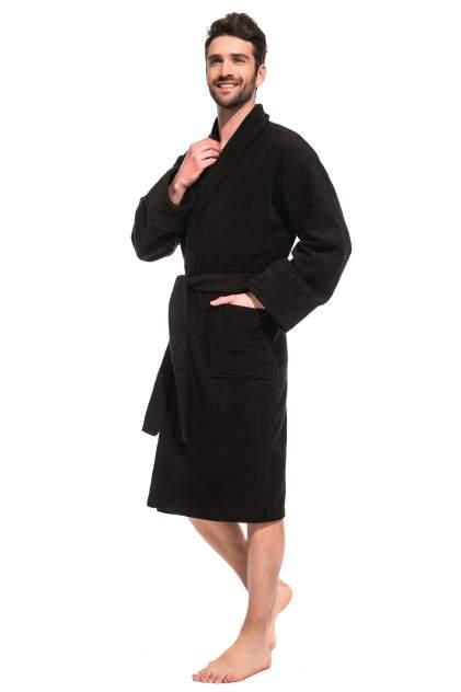 Домашний халат мужской Evateks Black Label черный 50-52