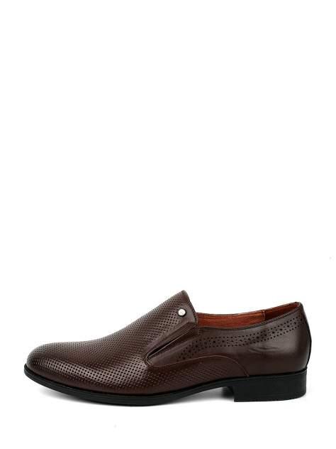 Туфли мужские BERTEN BSL20-372 коричневые 42 RU