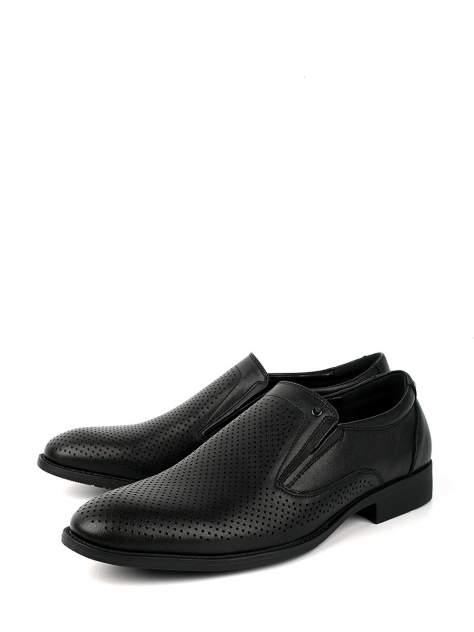 Туфли мужские BERTEN BSL20-1383 черные 41 RU