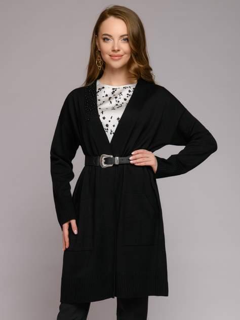 Кардиган женский 1001dress 0112005-01774BK черный 48 RU