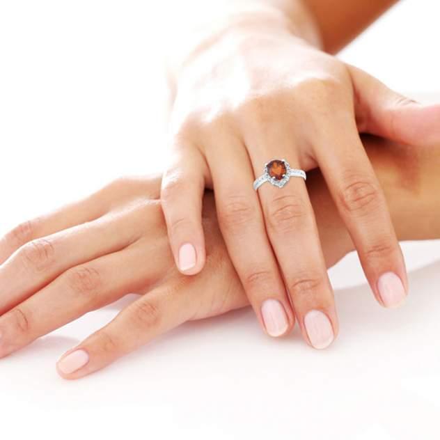 Кольцо женское Skazka 02663 р.17.5