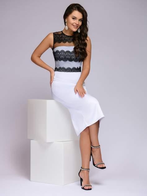 Женское платье 1001dress 0122001-02328WH, белый