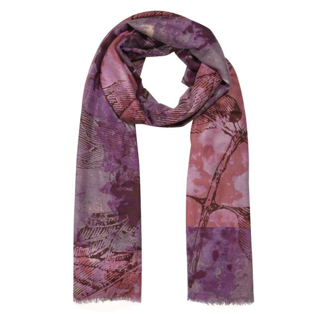 Палантин женский Henry Backer H1701W17 розовый