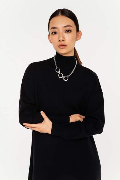 Платье-водолазка женское befree 2111052505 черное XS