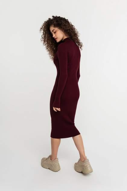 Платье-водолазка женское befree 2111071509 красное XS