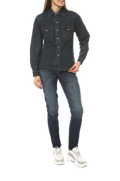 Рубашка женская Wrangler 270016 синяя S