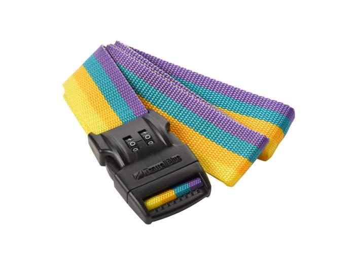 """Ремень для багажа с кодовым замком Travel Blue Combi Strap 1.5"""" 046 желтый"""