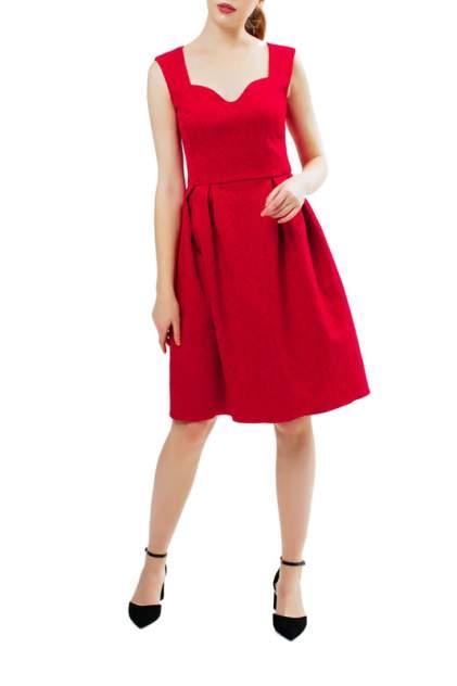 Вечернее платье женское Модный дом виктории тишиной Джесс 322-16-1 красное 52-170