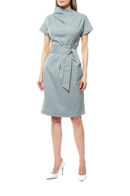 Повседневное платье женское Модный дом виктории тишиной Марлен 321-15-1 серое 52-170