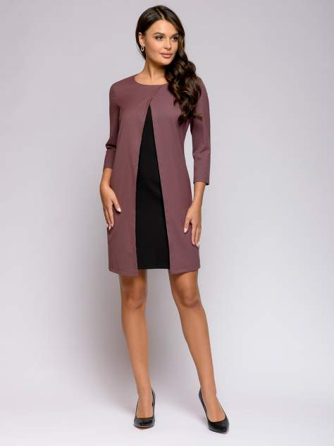 Женское платье 1001dress 0112001-01038VA, коричневый