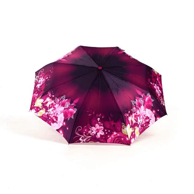 Зонт женский UTEKI U5154 бордовый