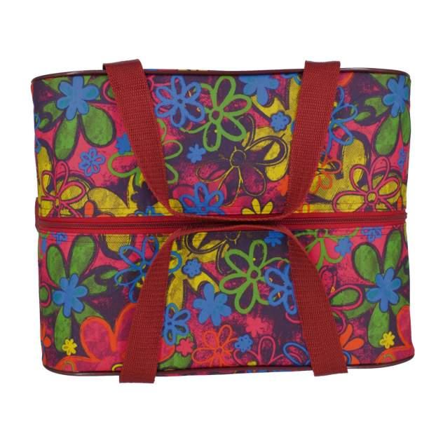 Сумка дорожная для ручной клади Pobedabags Цветы 36 x 30 x 27