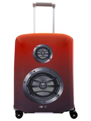 Чехол для чемодана Routemark Boombox, красный