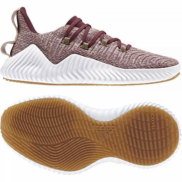 Кроссовки женские Adidas Alphabounce красные 6 UK