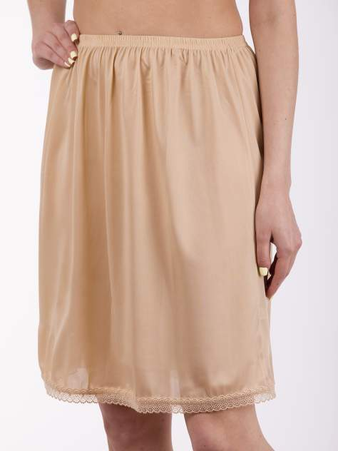 Нижняя юбка женская EVADIVA 844 бежевая 48-50