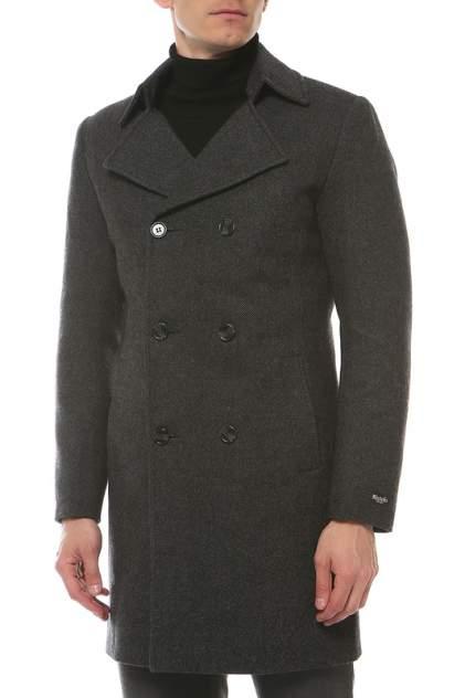 Пальто-бушлат мужское MISTEKS DESIGN 31930 серое 48-176