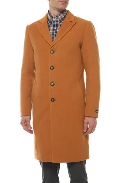 Пальто мужское MISTEKS DESIGN 31801 коричневое 50-176