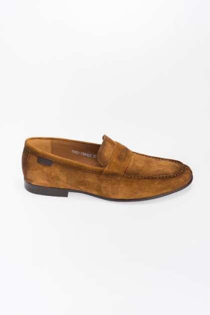Лоферы мужские Respect VS83-139460, коричневый