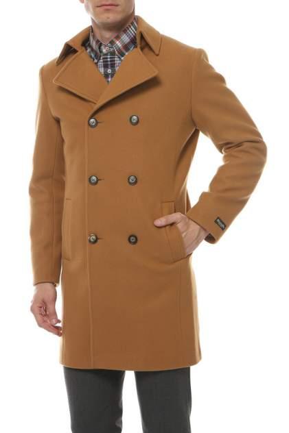 Пальто-бушлат мужское MISTEKS DESIGN 31958 коричневое 52-176