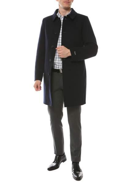 Пальто мужское MISTEKS DESIGN 31927 синее 56-176