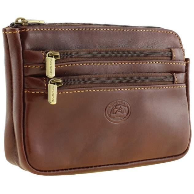 Поясная сумка Tony Perotti 273222/2 коричневая средняя