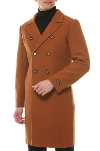 Пальто-бушлат мужское MISTEKS DESIGN 31941 коричневое 46-176
