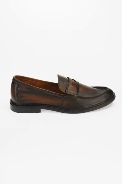 Лоферы мужские Respect VS83-140033, коричневый