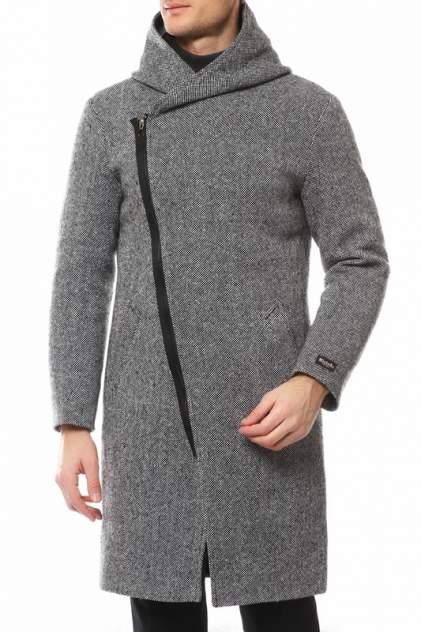 Пальто мужское MISTEKS DESIGN 31955 серое 50-176